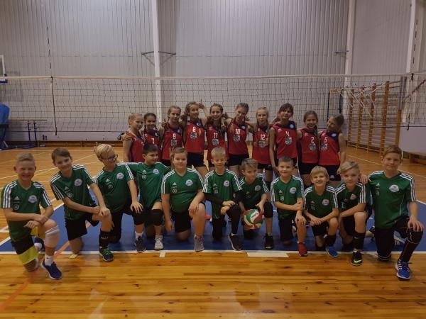 U12 volejbolisti sacenšas Gulbenē